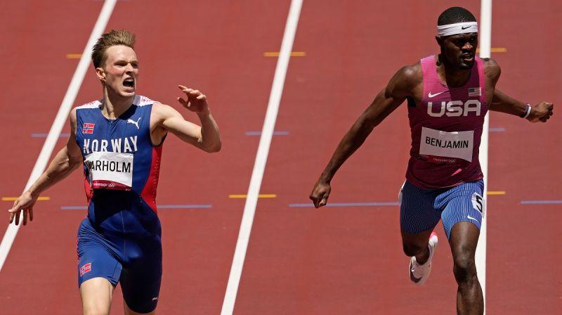 奧運/400跨欄7人創新紀錄 美國名將:奧運史上最佳比賽