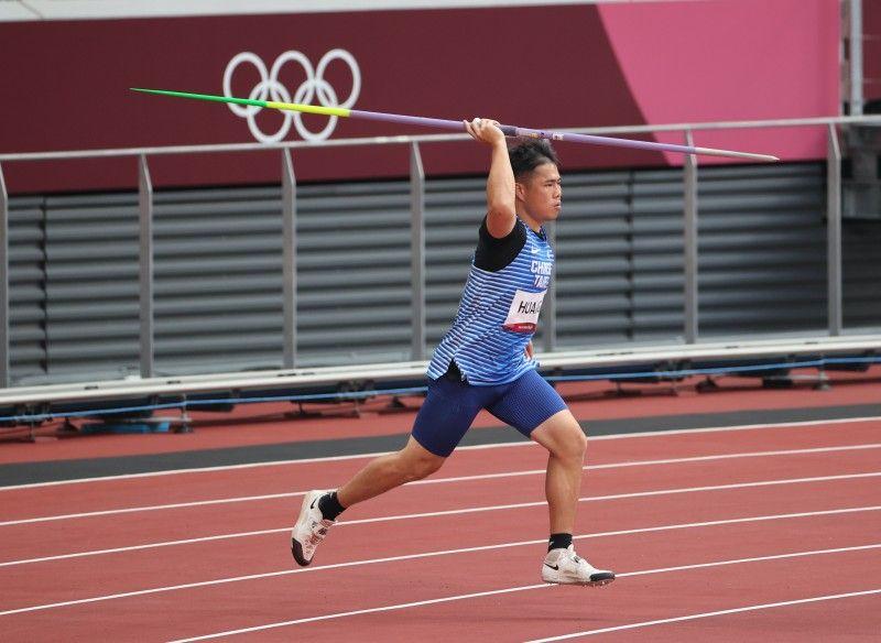 ▲黃士峰參加東京奧運。(圖/體育署)