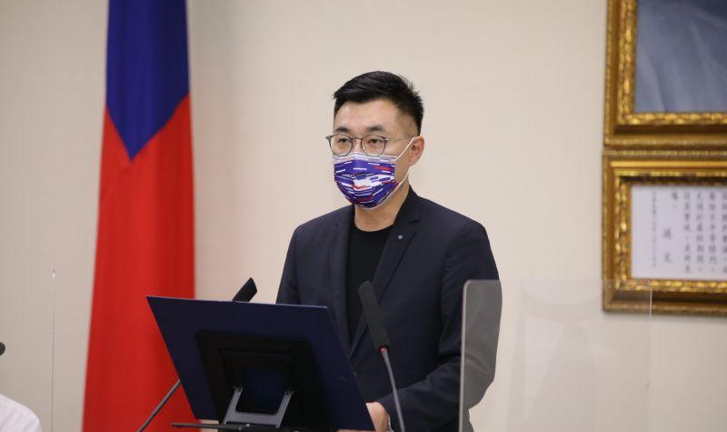 ▲國民黨主席江啟臣爭取連任,他說他會當造王者,避免黨內分裂。(圖/資料照片)