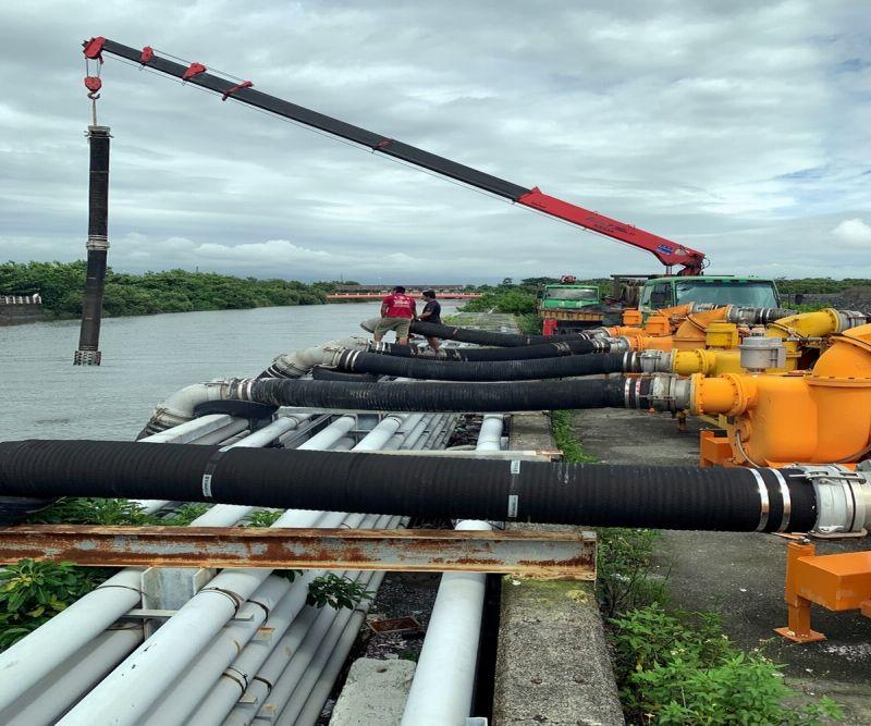 盧碧颱風來襲 第七河川局防汛整備作業再升級
