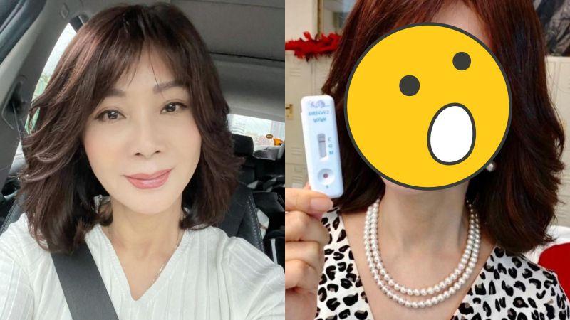 陳美鳳做快篩「露事業線」 網友驚:太瘦了