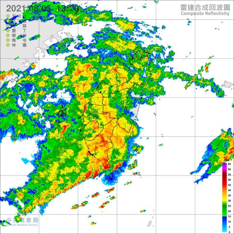 日累積雨量破200毫米 高屏發布豪雨特報