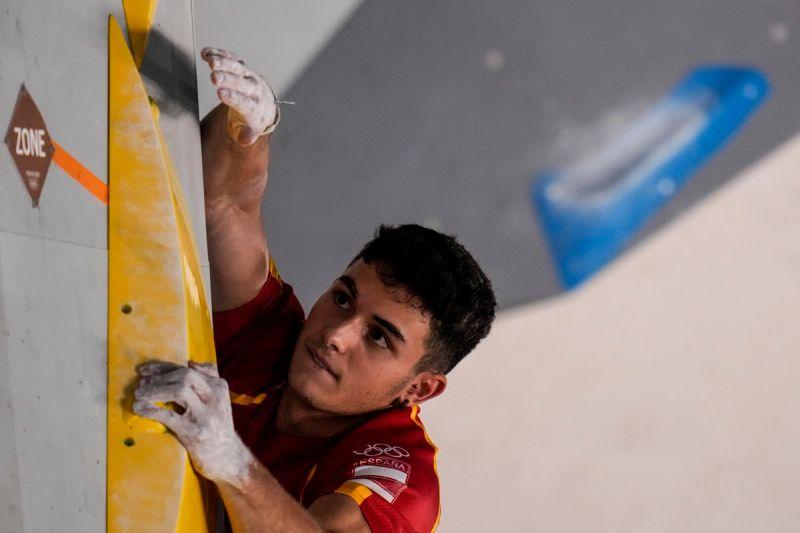 ▲西班牙運動攀登好手Alberto Gines Lopez。(圖/美聯社/達志影像)