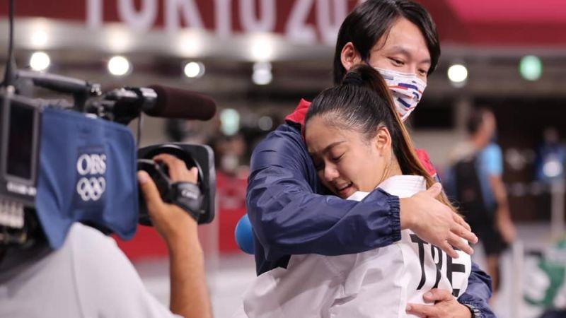 ▲台灣空手道選手文姿云在本屆東京奧運奪下銅牌。(圖/體育署提供)