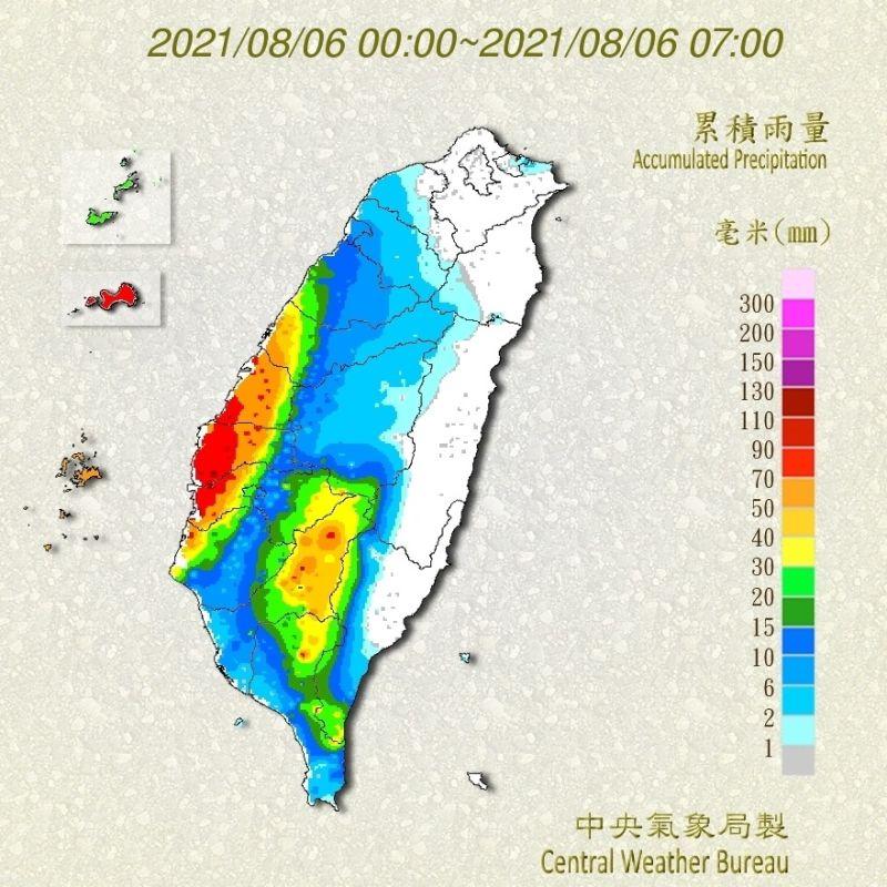 時雨量破百毫米!盧碧颱風外圍環流發威 持續轟炸南台灣