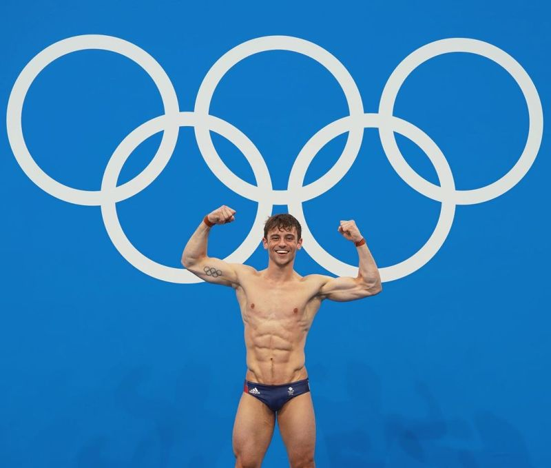▲英國「跳水王子」Tom Daley東京奧運男子個人10公尺跳台跳水銅牌,本屆東奧收下一金一銅已創個人最佳。(圖取自Tom Daley IG)