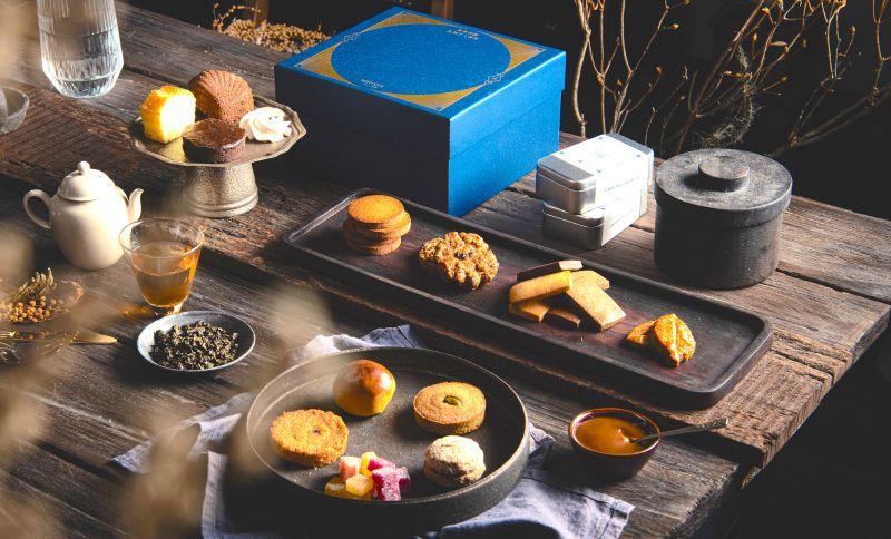 ▲國內法式甜點業者今年也推出甜點禮盒,由於去(2020)年銷售大獲好評,今(2021)年禮盒發行近雙倍數量的禮盒。(圖/業者提供)