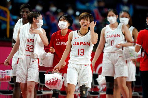 ▲日本女籃晉級決賽。(圖/美聯社/達志影像)