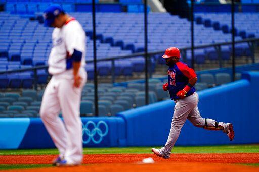 ▲韓國隊在這次奧運棒球只有拿下第四名。(圖/美聯社/達志影像)