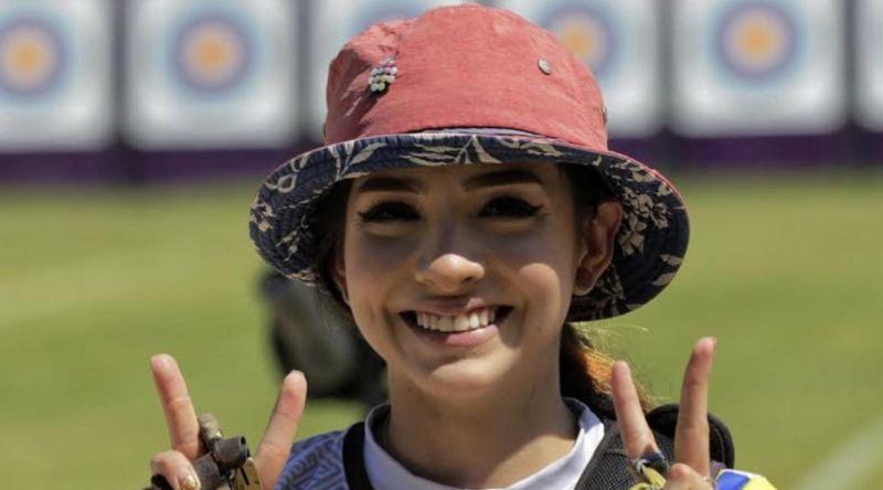 ▲哥倫比亞美女射箭運動員Valentina