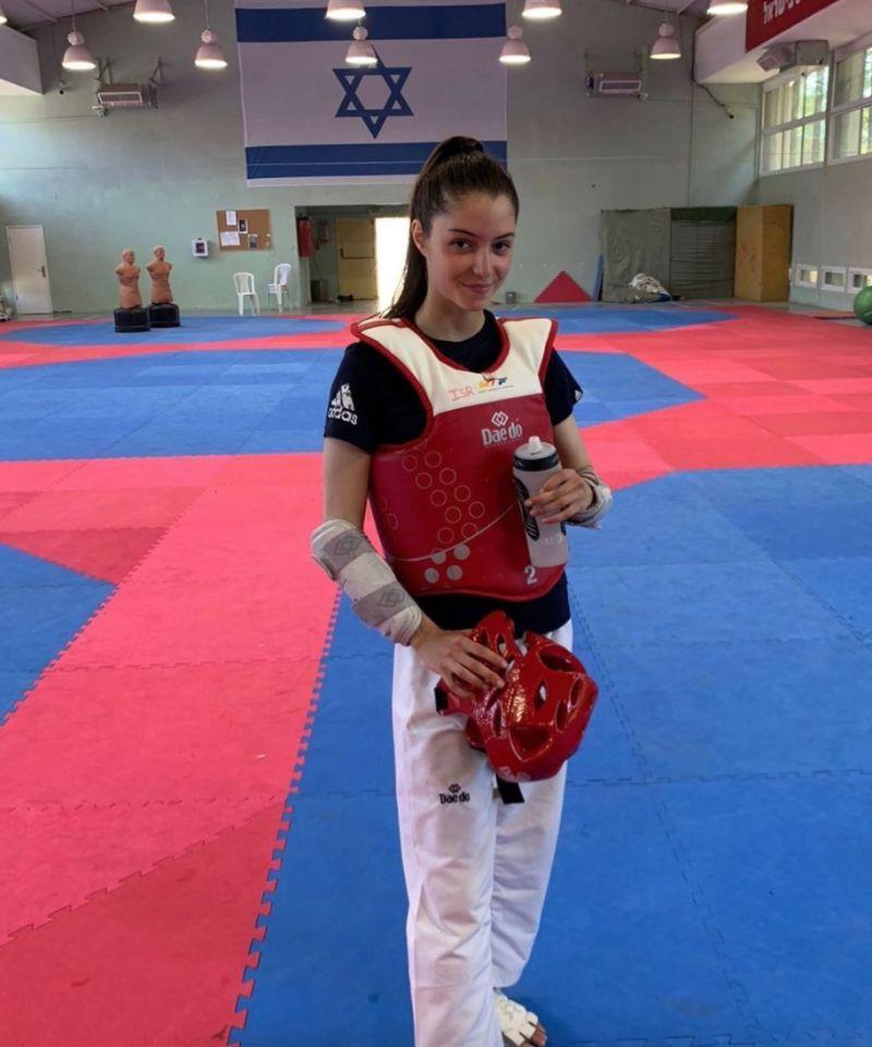 ▲以色列跆拳道美女Avishag