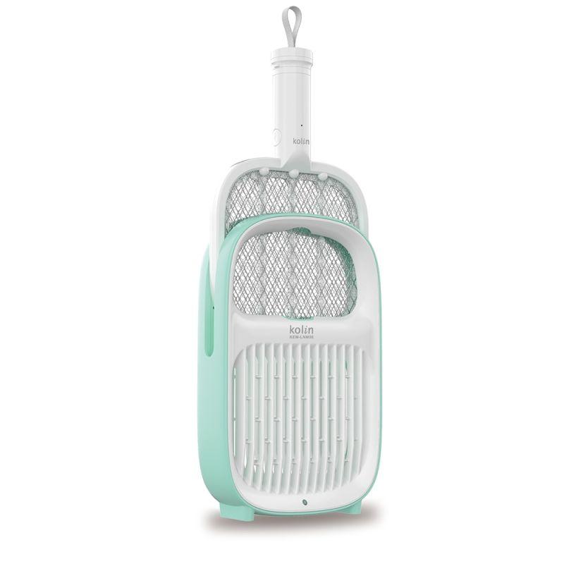 ▲歌林二合一捕蚊燈/電蚊拍,擁有聰明的二用設計,不僅可以是電蚊拍同時也是滅蚊燈。(圖/品牌提供)