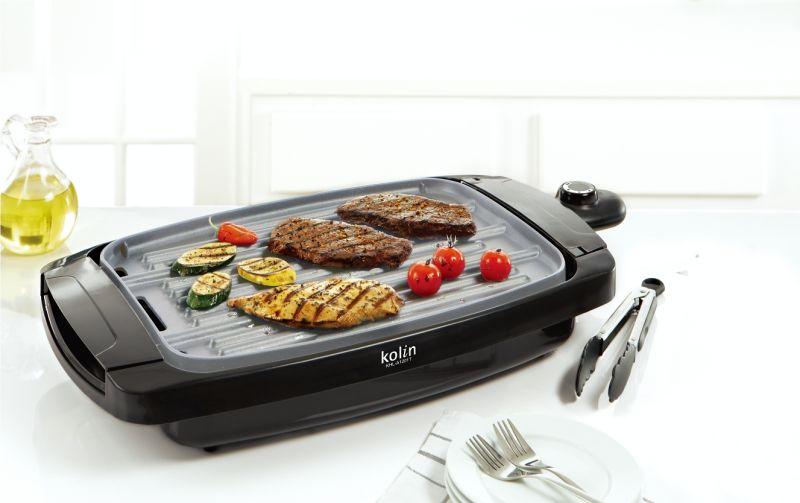 ▲歌林電熱式雙面電烤盤,讓主婦煎、