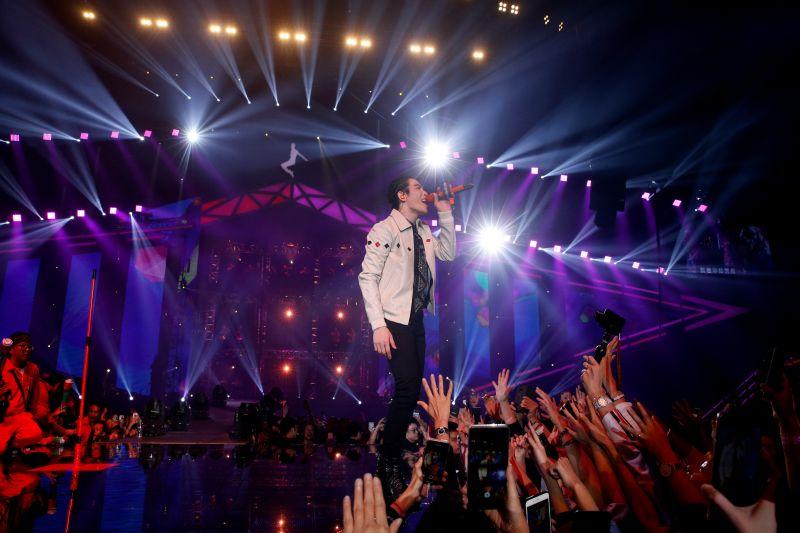 ▲蕭敬騰的「娛樂先生世界巡迴演唱會」完整版將限時上架。(圖/華納音樂提供)