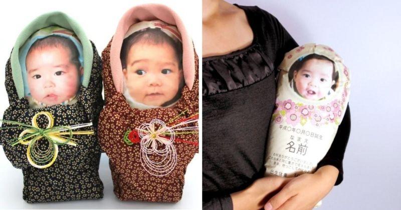 ▲疫情嚴峻情況下,日本父母突發異想,將米粒放在布袋中寄送給親戚,以分享新生兒喜悅,同時盡到防疫的責任。(圖/擷取自PR/http://www.yosimiya.com/網站)