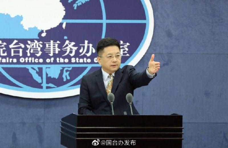 ▲中國國台辦發言人馬曉光,13日再度就台美海巡合作發言。(圖/美聯社/達志影像)