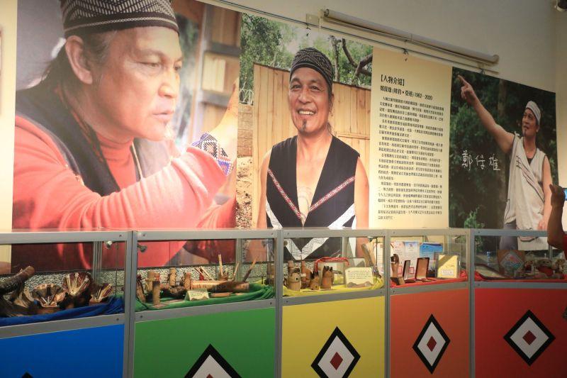 ▲台中市原住民族文化館,即日起展覽至10月26日,舉辦「鄭保雄紀念特展」(圖/市政府提供2021.8.14)