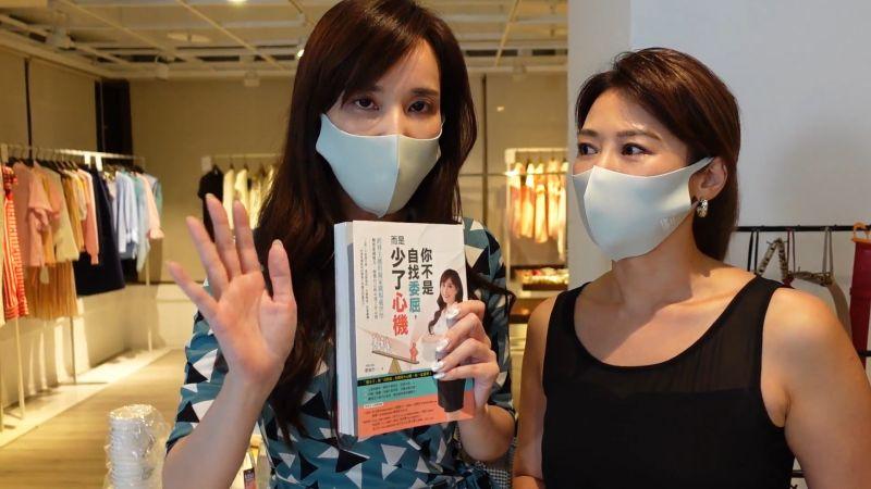 ▲劉涵竹(左)、連靜雯不懂撒嬌,在職場吃苦頭