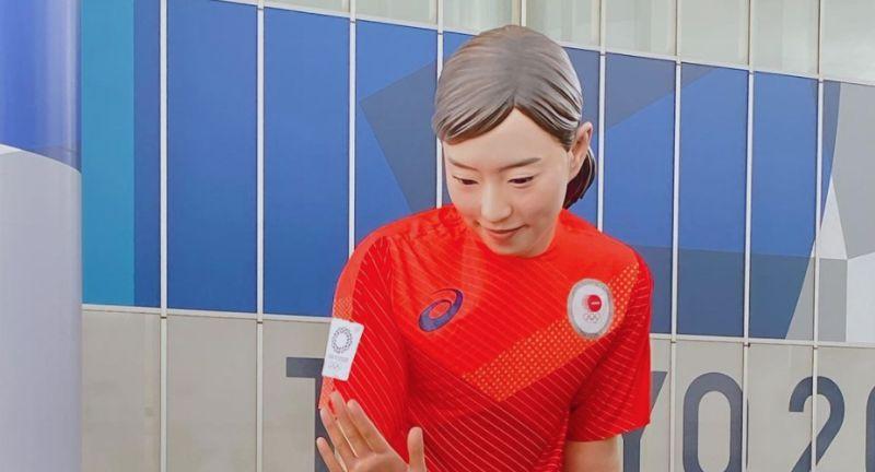 奧運/進擊的石川!巨大石川佳純人像受歡迎