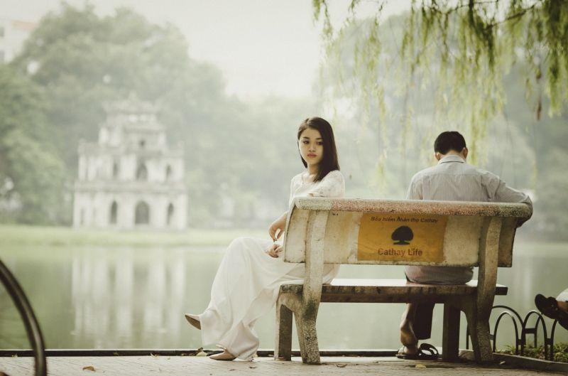 ▲原PO在網路論壇《Dcard》上分享被交往三年半的女友分手。