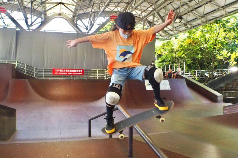 ▲臺北市極限運動育樂營連續10年舉辦,成為培育極限運動選手的搖籃。(圖/官方提供)