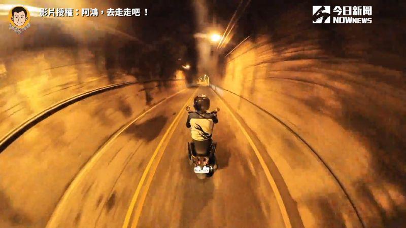 ▲阿鴻在影片中鼓勵大家勇敢追夢,不管幾歲都不嫌晚。(圖/阿鴻,去走走吧