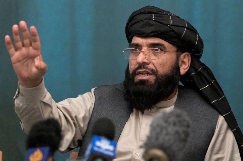 ▲塔利班發言人夏亨(Suhail Shaheen)在推特發文表示,中國承諾駐阿富汗大使館維持運作,並增加對阿富汗的人道援助。資料照。(圖/美聯社/達志影像)
