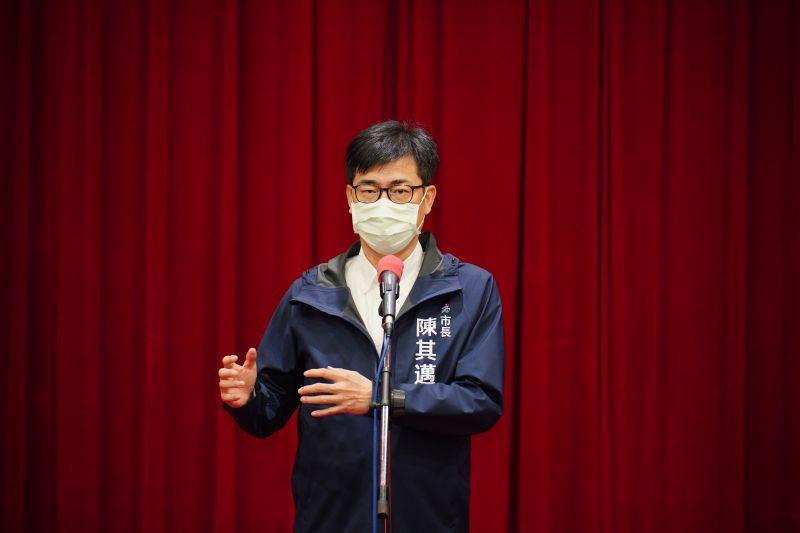 陳其邁:民調是參考 認真做、努力做,才對得起高雄市民