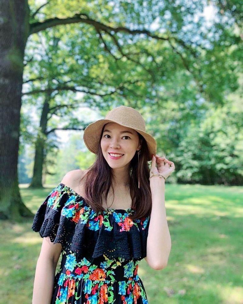 ▲46歲曾馨瑩保養得宜。(圖/曾馨瑩IG)