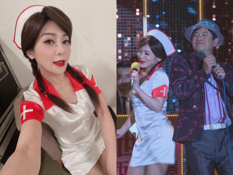 王彩樺52歲身材不科學 辣扮「俏護士」要觀眾噴鼻血