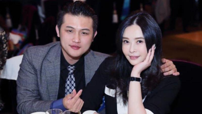 ▲梁軒安(左)為老婆蕭淑慎槓酸民。(圖/梁軒安臉書)
