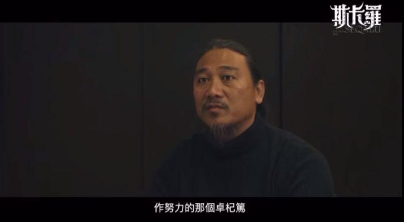 ▲温貞菱分享查馬克受訪片段。(圖/温貞菱臉書)