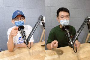 ▲黃子佼(左)、陳俊菖(右)從幼稚園開始就熱愛流行音樂。(圖/大鵬傳播提供)