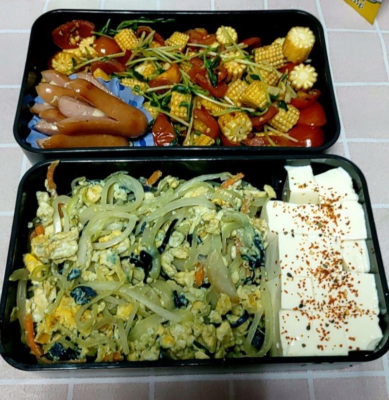 ▲女網友替自己準備的便當,菜色十分健康清淡。(圖/翻攝自《爆怨2公社》臉書)