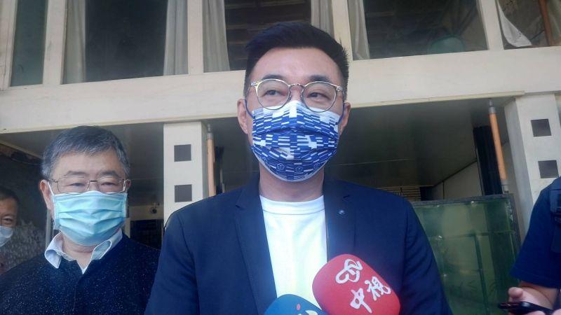 ▲BNT抵台,國民黨主席江啟臣說,「再多話語也掩蓋不了政府的失能,更搶不走民間組織的貢獻。」(圖/資料照片)