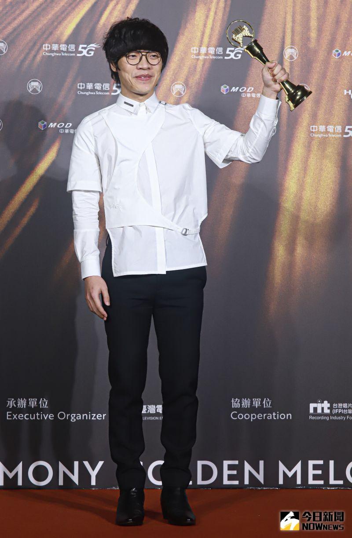 ▲▼盧廣仲憑《刻在我心底的名字》奪下年度歌曲獎。(圖/NOWnews影像中心)