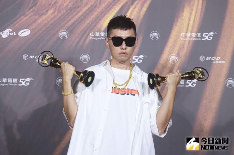 ▲蛋堡拿走歌王、華語專輯兩大獎。(圖/NOWnews影像中心)