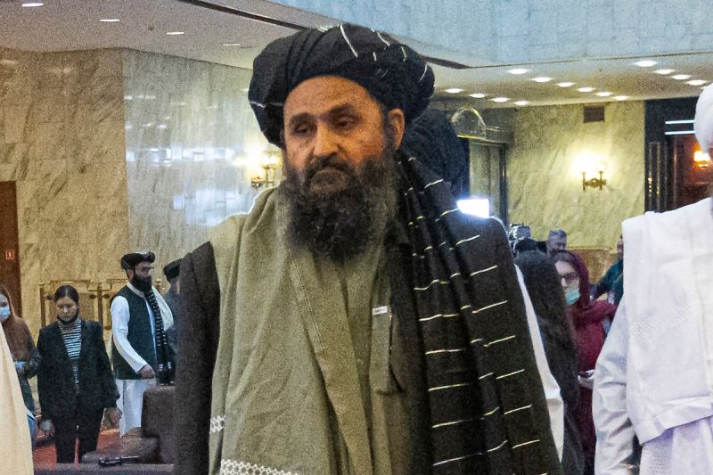 塔利班共同創辦人抵喀布爾 就建立新政府舉行會談