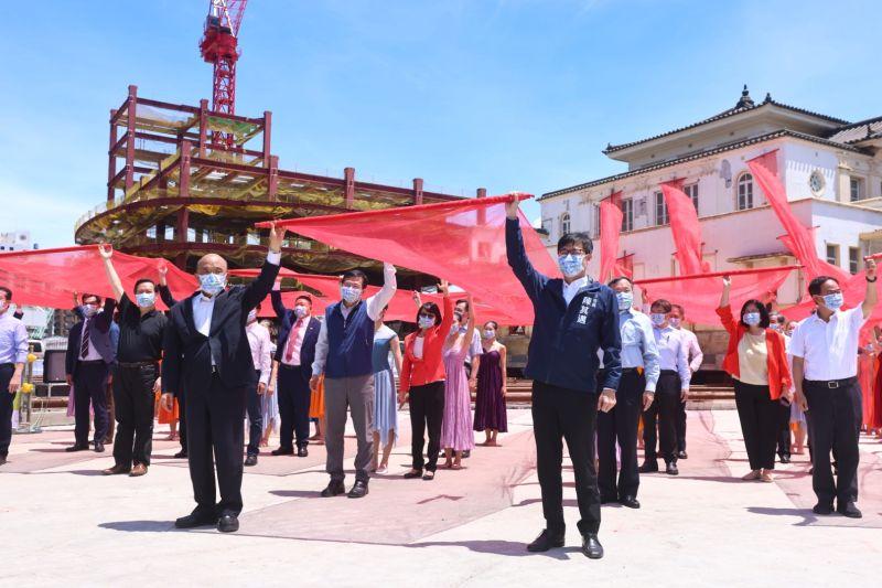 陳其邁邀歷任市長重回高雄 韓國瑜婉拒了