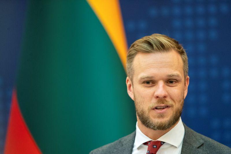 ▲立陶宛外交部長藍斯柏吉斯啟程赴華府訪問,將與美國國務卿布林肯會晤,雙方將討論與中國的關係。資料照。(圖/美聯社/達志影像)