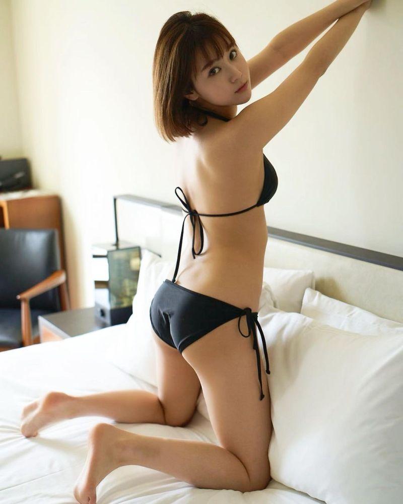 ▲西原愛夏有著161公分身高,35F、23、34傲人比例。(圖/西原愛夏IG)