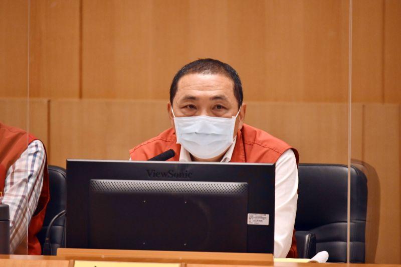 ▲新北市長侯友宜表示,台灣必須視同Delta病毒已進入社區,準備就緒的自信迎戰,因為「病毒不會等你」。(圖/新北市政府提供)