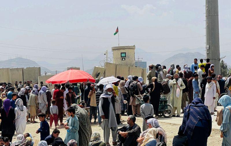 ▲塔吉克警告,國內缺乏收容大量來自鄰國阿富汗難民的基礎設施,並批評國際組織未提供協助。南非也回絕了接收阿富汗難民的要求。(圖/美聯社/達志影像)