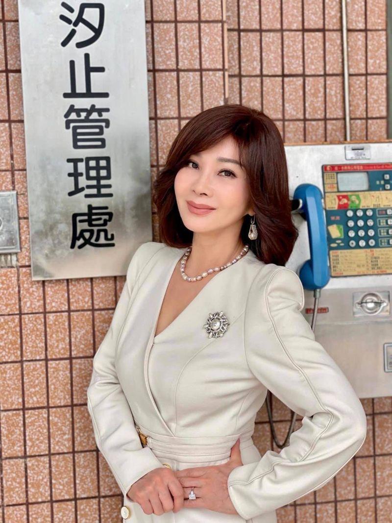 ▲▼陳美鳳被譽為「台灣最美麗歐巴桑」。(圖/陳美鳳臉書)