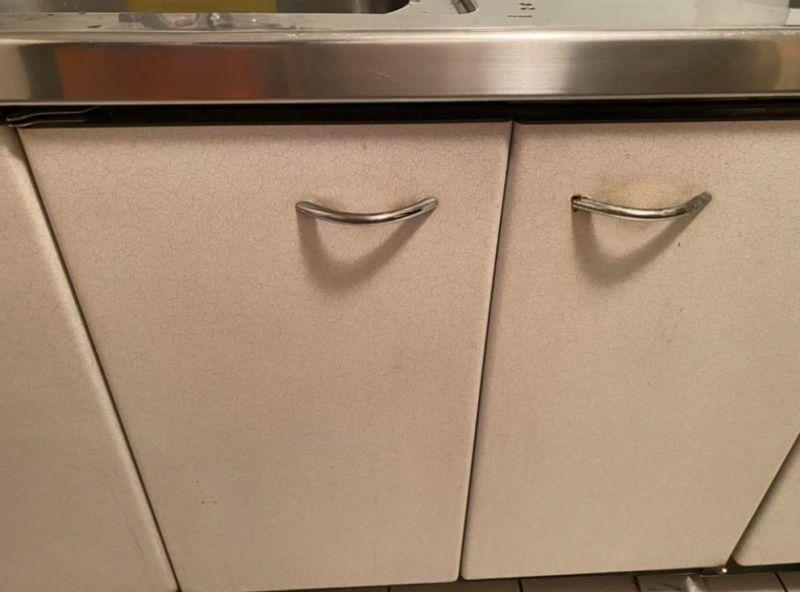 ▲原PO自家廚房的流理台,時常傳出怪聲音。(圖/翻攝自《爆怨2公社》)