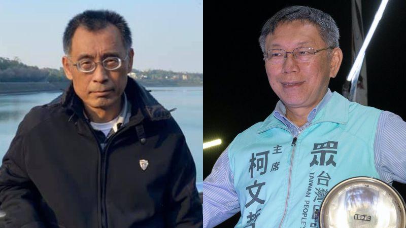 獨/為柯文哲打造「柯」流?韓國瑜親信黃文財加入民眾黨