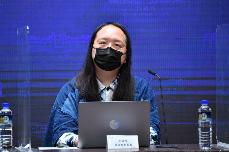 ▲五倍券已數位綁定能改,政委唐鳳表示,無取消或移轉規畫。(圖/政院提供)