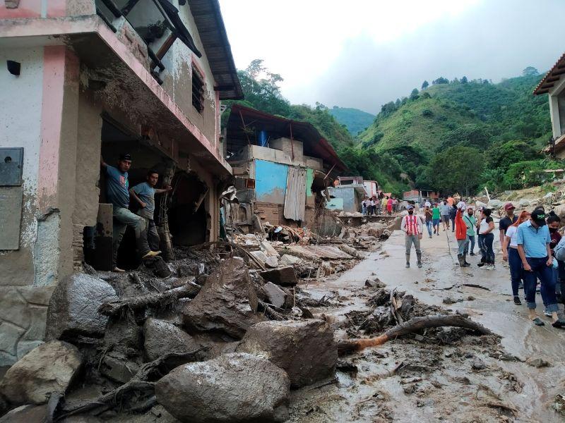 委內瑞拉西部暴雨釀坍方 增至20死