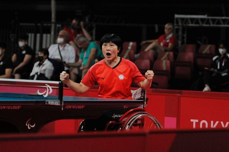 帕運/這是老天安排!台灣最強「桌球阿嬤」盧碧春晉八強