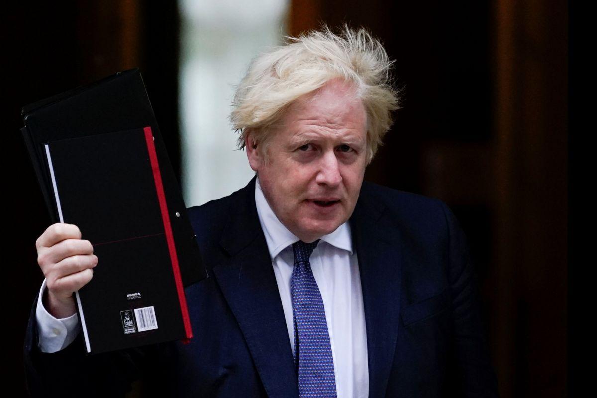 ▲正當英國面臨脫離歐洲聯盟(EU)後更顯嚴重的供應鏈危機,英國首相強生仍表示,他拒絕讓英國經濟重回脫歐前的「破碎」狀態。資料照。(圖/美聯社/達志影像)